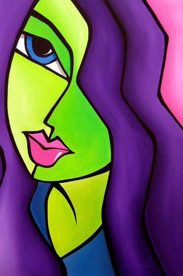 Pop Art Painting - Dream Come True  by Tom Fedro - Fidostudio