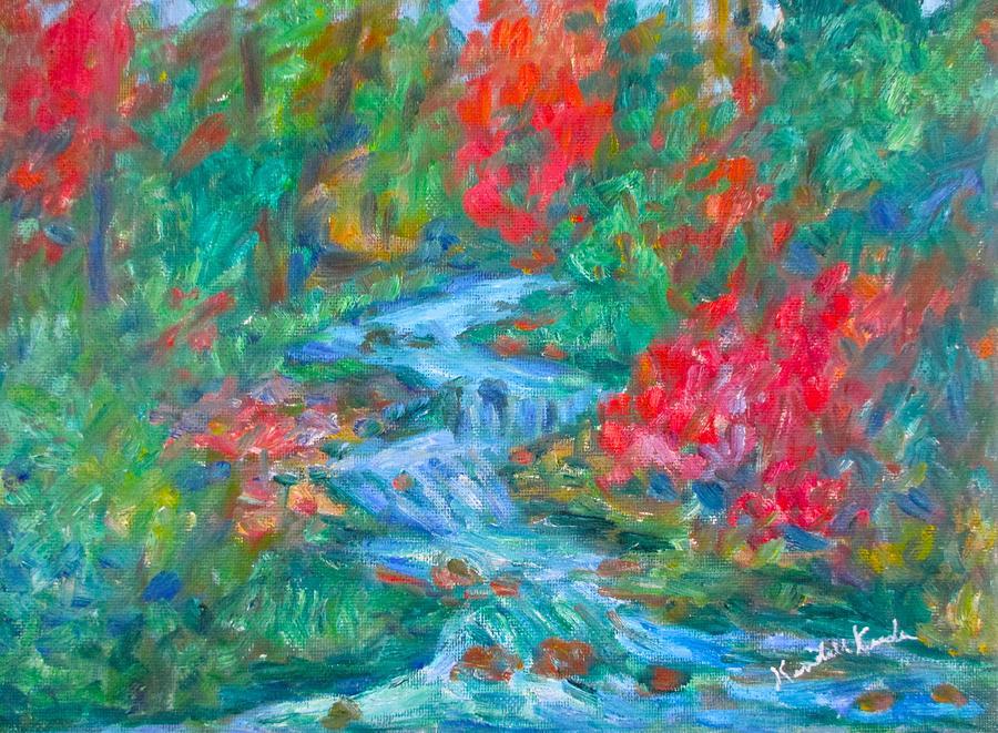 Kendall Kesslercreek Paintings Painting - Dream Creek by Kendall Kessler