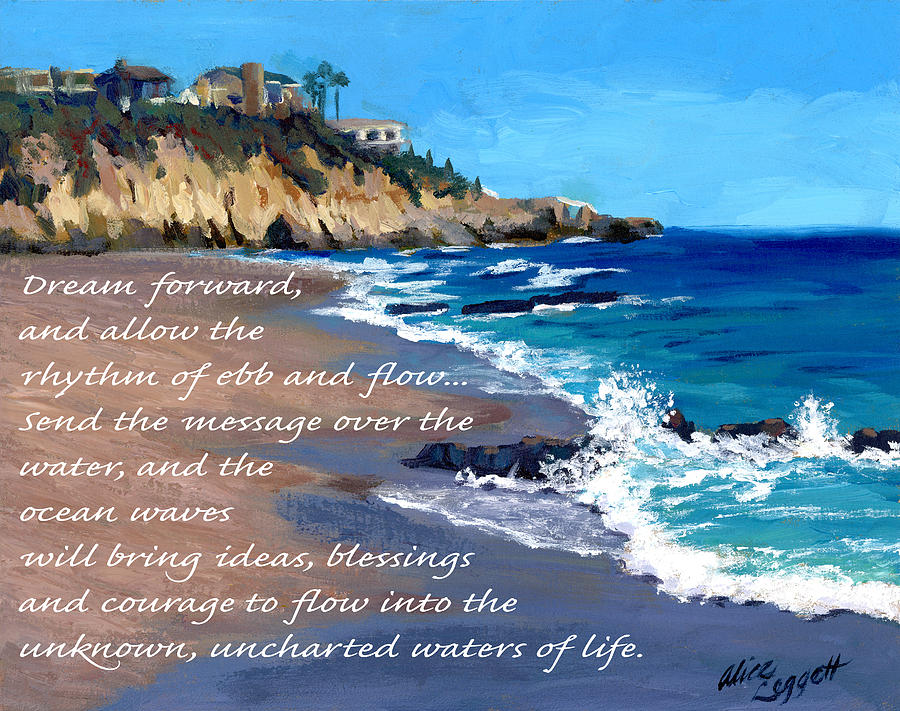 Dream Painting - Dream Forward by Alice Leggett