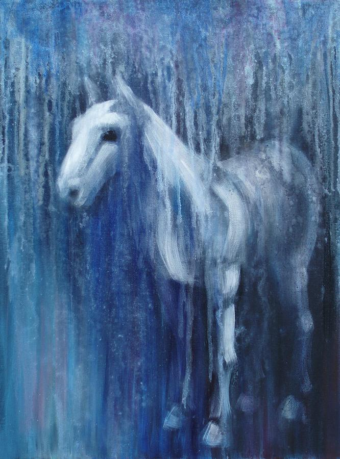 Horse Painting - Dream Horse by Katherine Huck Fernie Howard