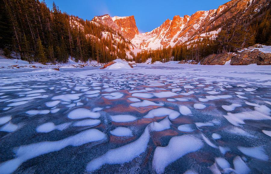 Dream Lake Dimples Photograph