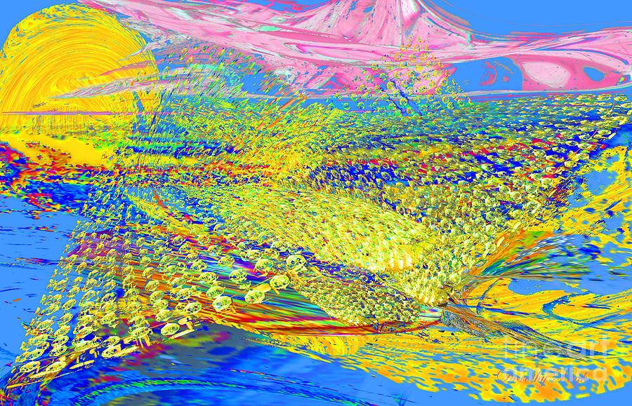 Landscape Digital Art - Dream Landscape by Dorothy Pugh