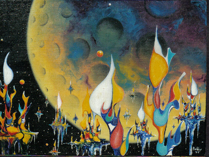 Dream Of Tomorrow Painting by Robie Julian