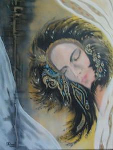 Dream Painting - Dream by Olga Dmytrenko