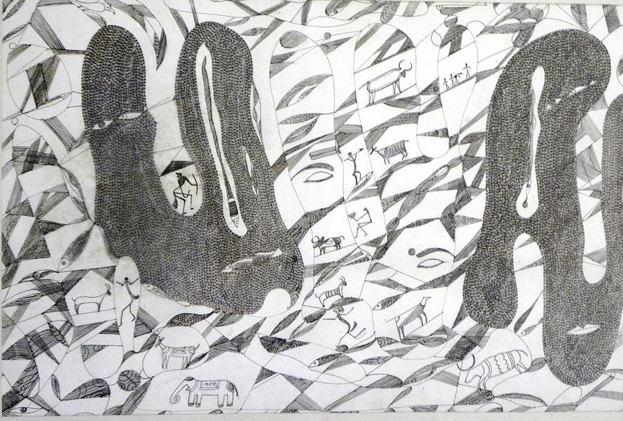 Dream Painting by Rajendra Yadav