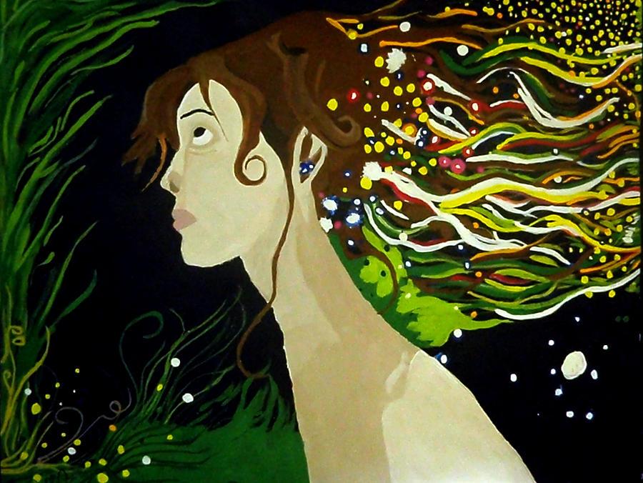 Dream Painting - Dream by Riham Osman