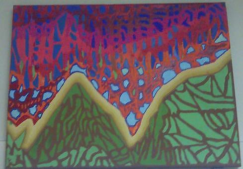 Dream Scape Painting - Dream Scape by Kenneth Stockwell