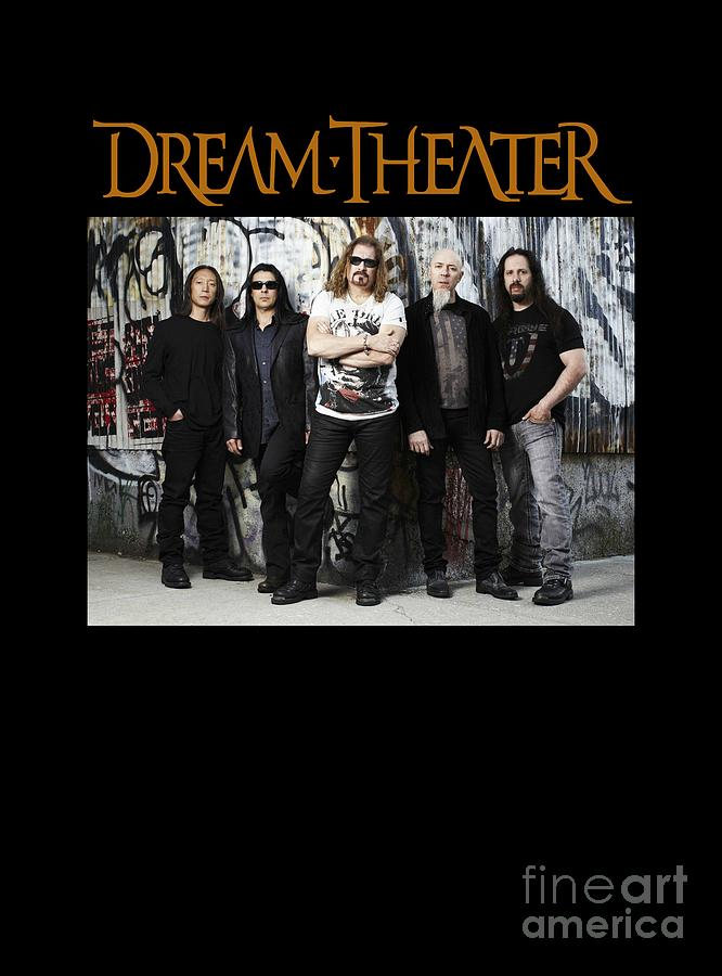 Dream Theater Digital Art - Dream Theater by Ratnawati