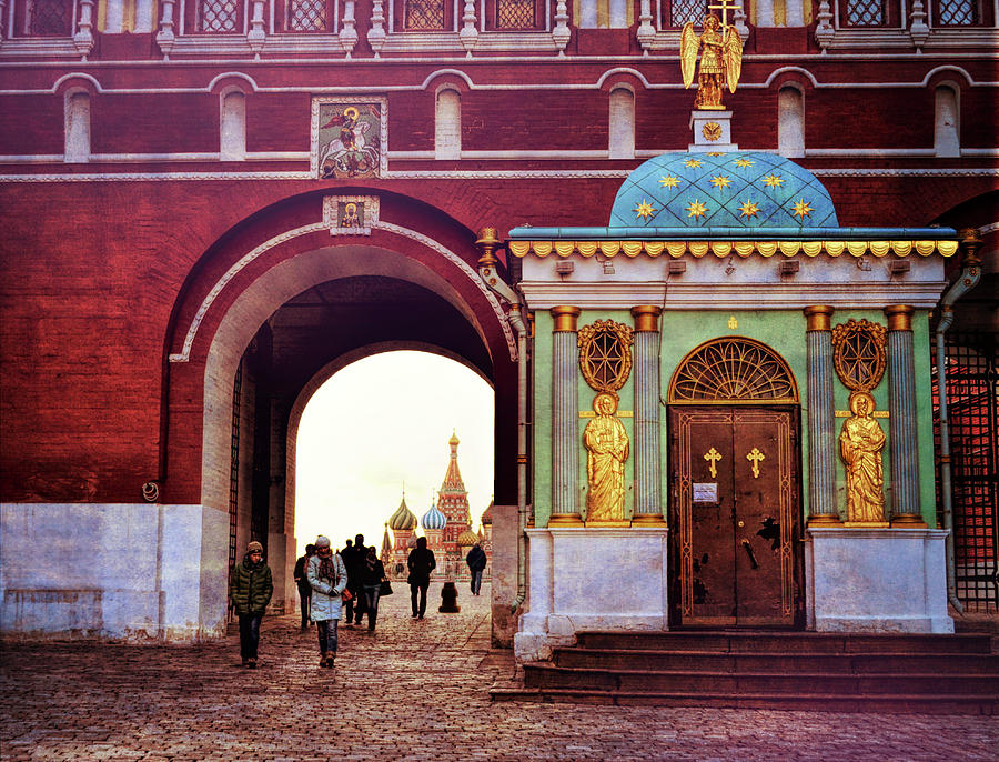 Moscow Photograph - Dream View by JAMART Photography