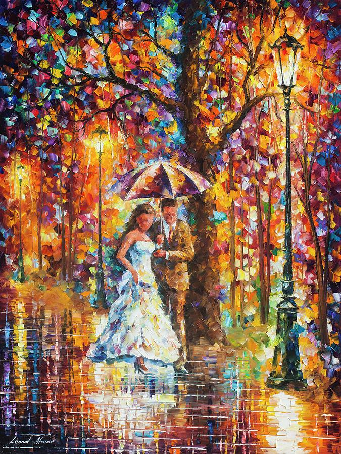 Painting Painting -  Dream Wedding by Leonid Afremov