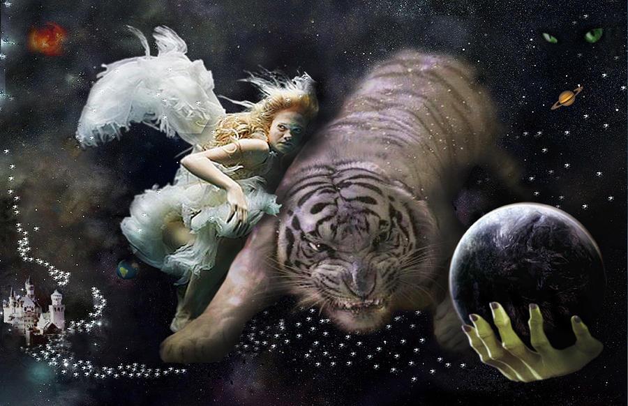 Dream Woman Digital Art by Arzu Yontar