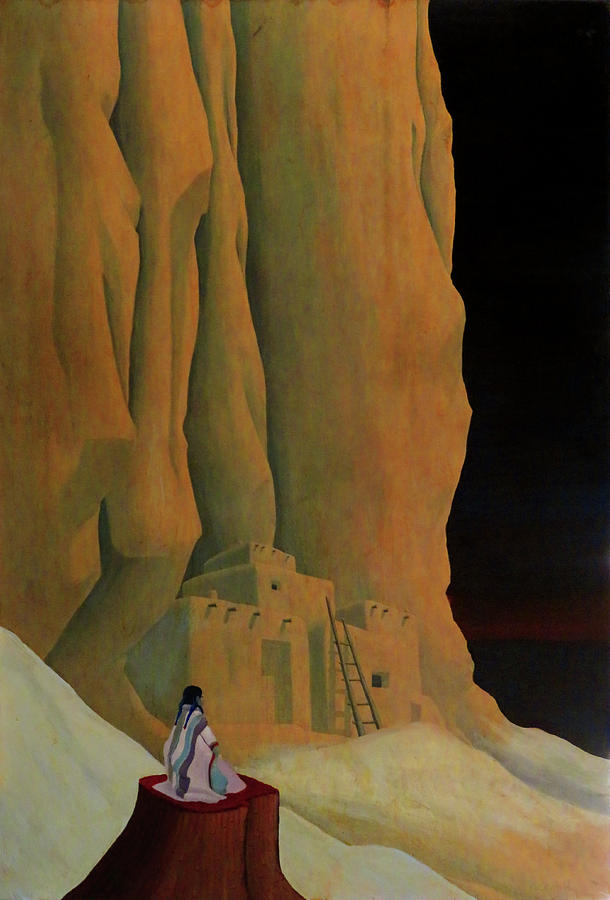 Pueblo Painting - Dream World by Robert Marquiss