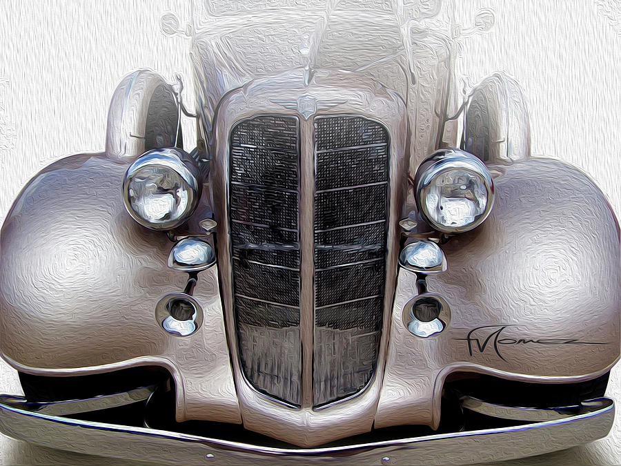 Bugle Boy Buick Photograph by Felipe Gomez