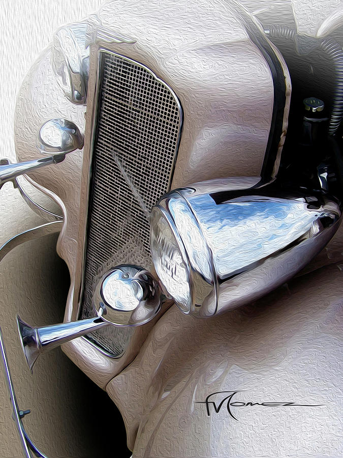 Bugle Blowin Buick Photograph by Felipe Gomez