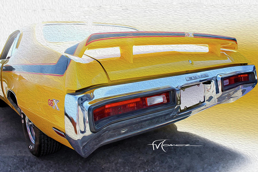 Screamin Yellow Buick Photograph by Felipe Gomez