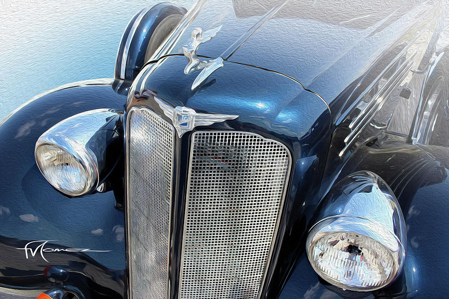 Prancin Buick Photograph by Felipe Gomez