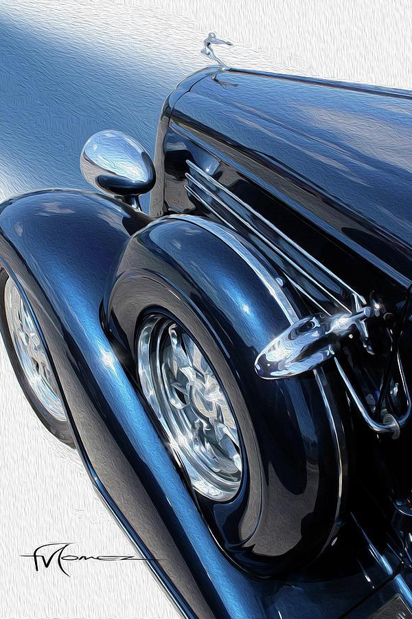 Got A Spare, Buick? Photograph by Felipe Gomez