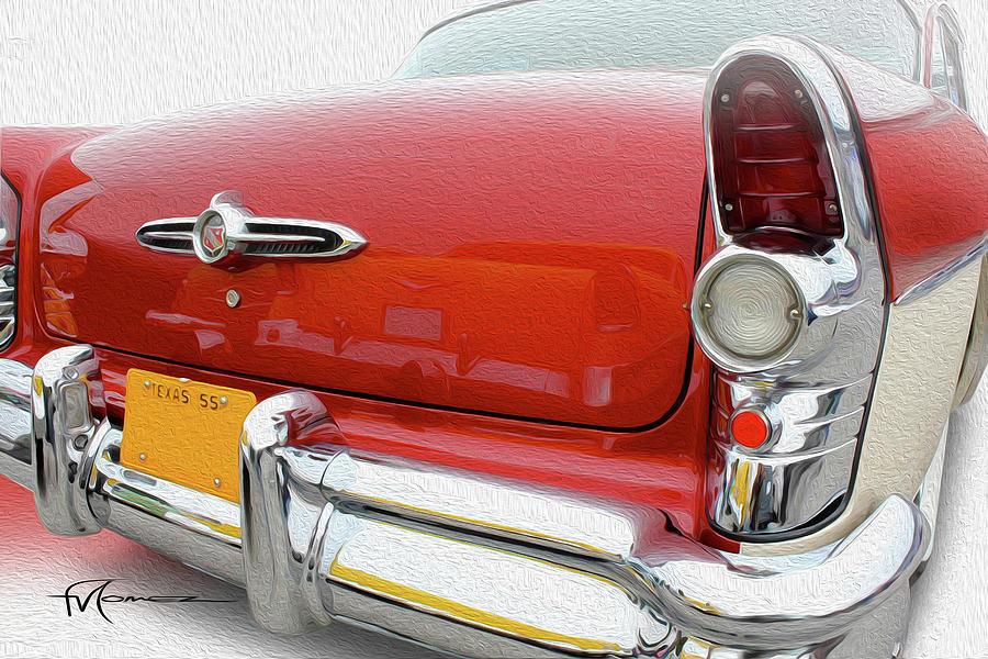 Buick Reflecting Photograph by Felipe Gomez