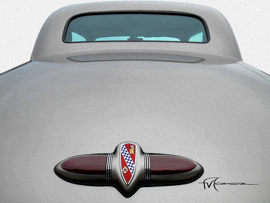 Buick Photograph - Buick Badge by Felipe Gomez