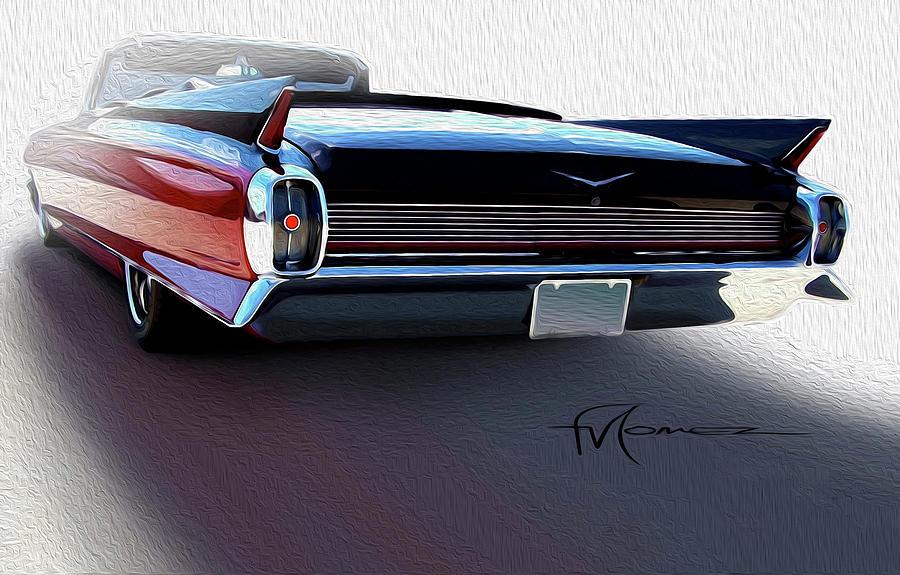 Cadillac Photograph - Long Shadow by Felipe Gomez