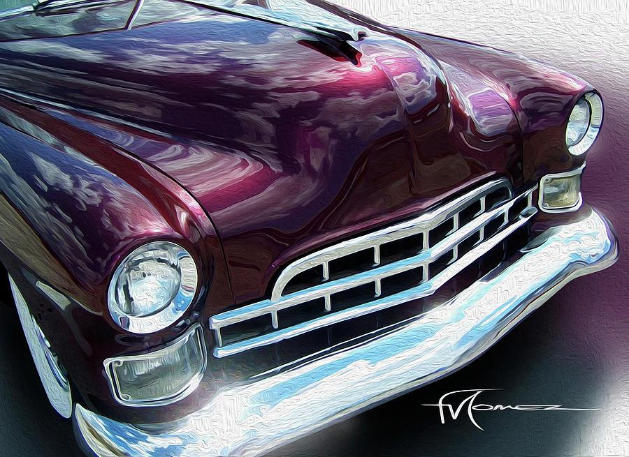 Cadillac Photograph - Deep Shine Caddie by Felipe Gomez