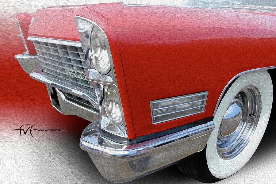 Cadillac Photograph - Whitewall Caddie by Felipe Gomez