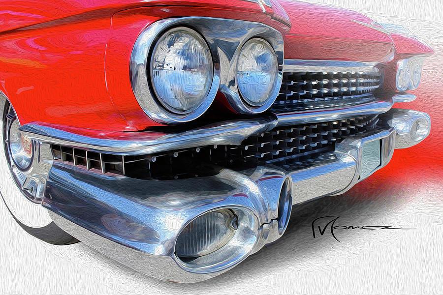 Cadillac Photograph - Robust Redhead by Felipe Gomez
