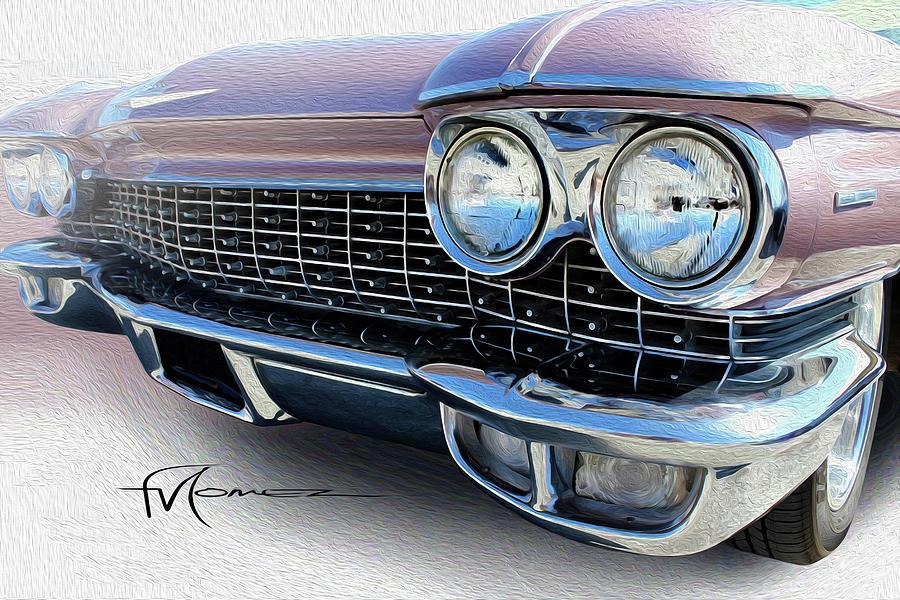 Cadillac Photograph - Marvelous Mauves Mug by Felipe Gomez