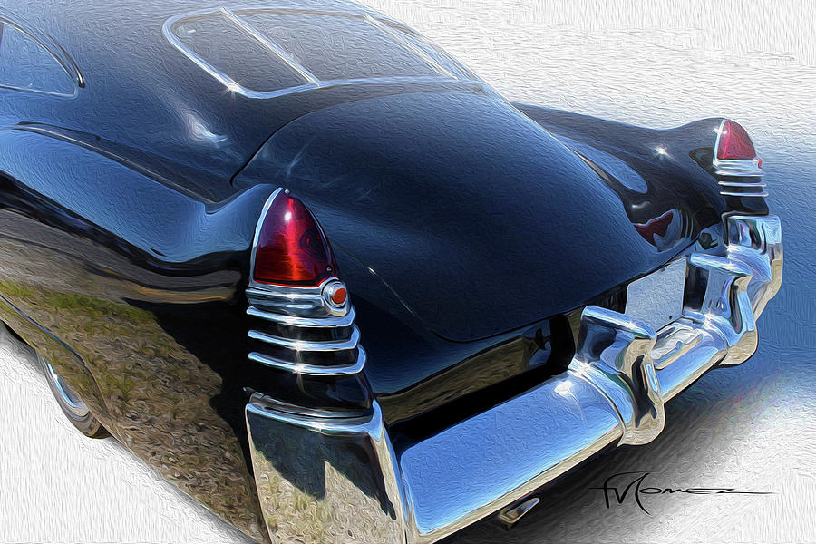 Cadillac Photograph - Solid Stance by Felipe Gomez