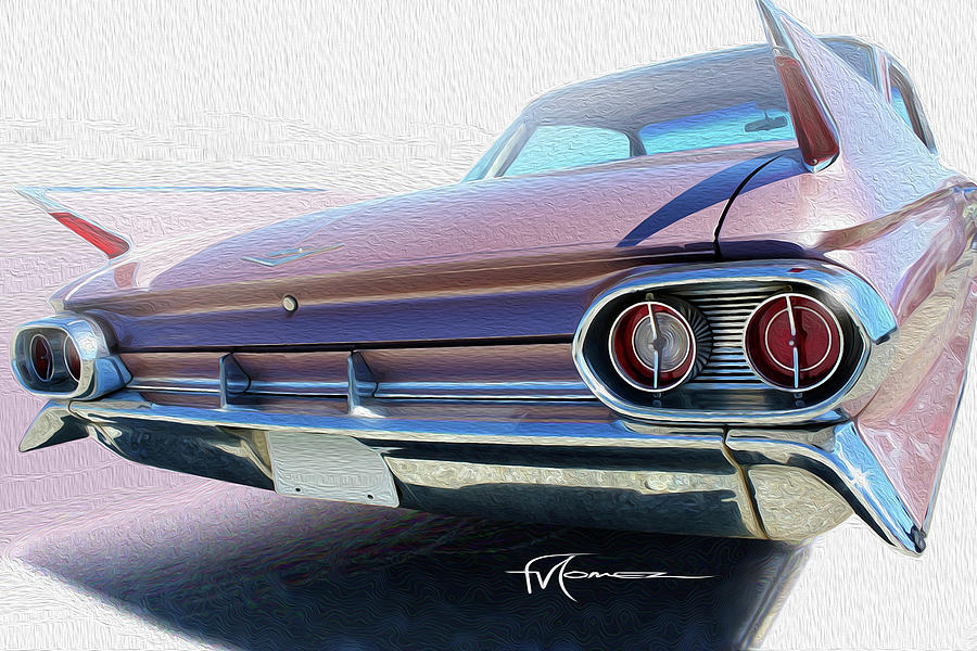Cadillac Photograph - Marvelous Mauve by Felipe Gomez
