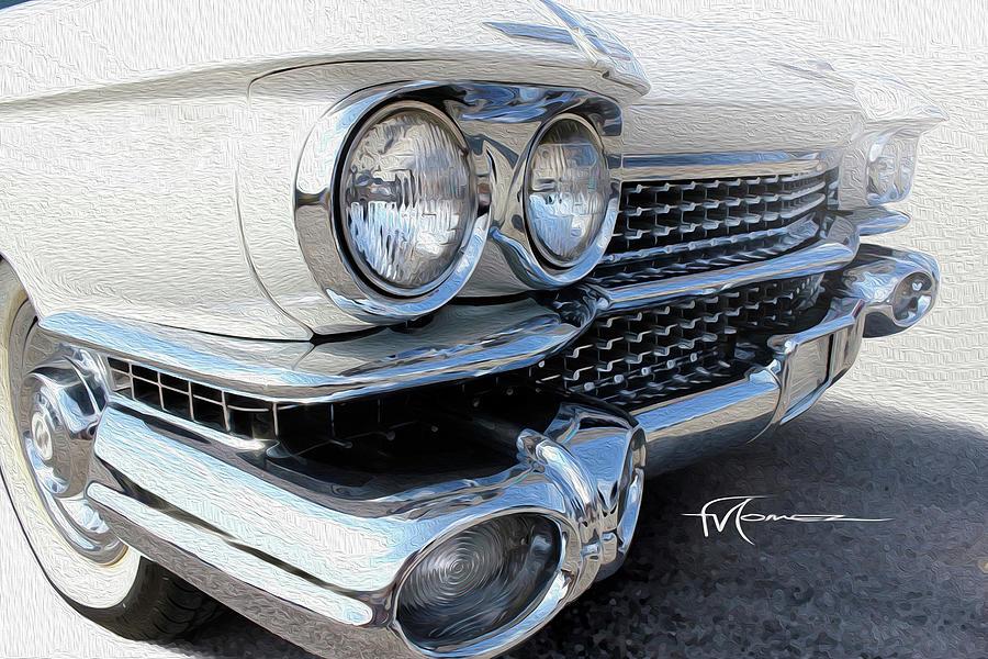 Cadillac Photograph - Candid Cadillac by Felipe Gomez