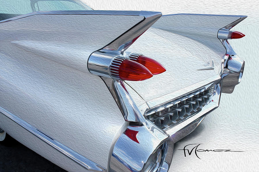 Cadillac Photograph - Built For Space Travel by Felipe Gomez