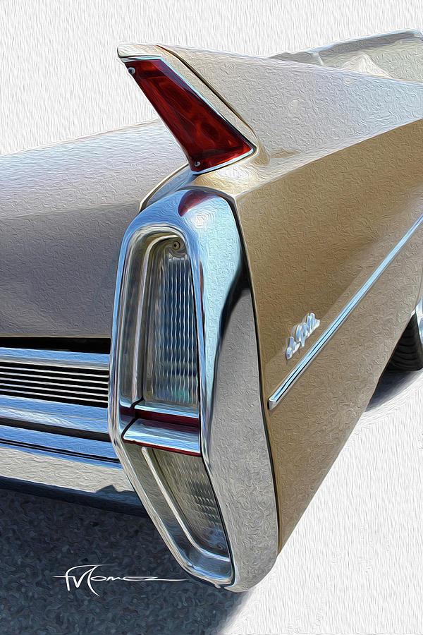 Cadillac Photograph - Chrome Is Sexy by Felipe Gomez