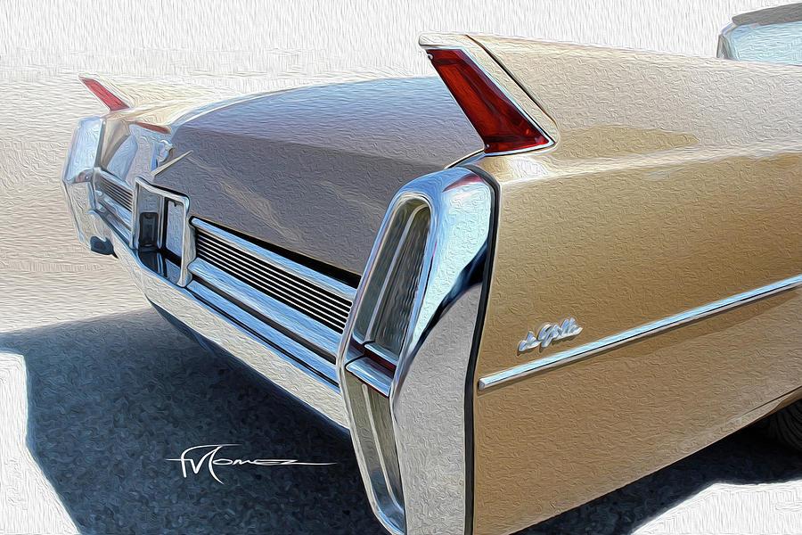 Cadillac Photograph - de Ville de Light by Felipe Gomez