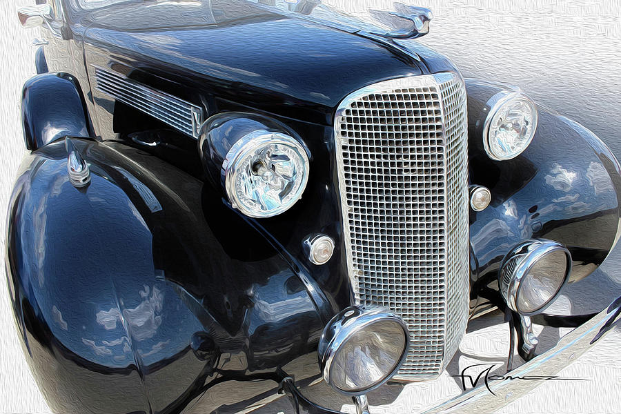 Cadillac Photograph - Classy Chassis by Felipe Gomez