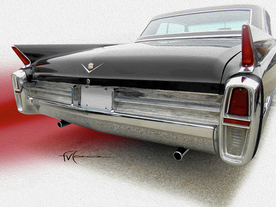 Cadillac Photograph - Twin Pipe Caddie by Felipe Gomez