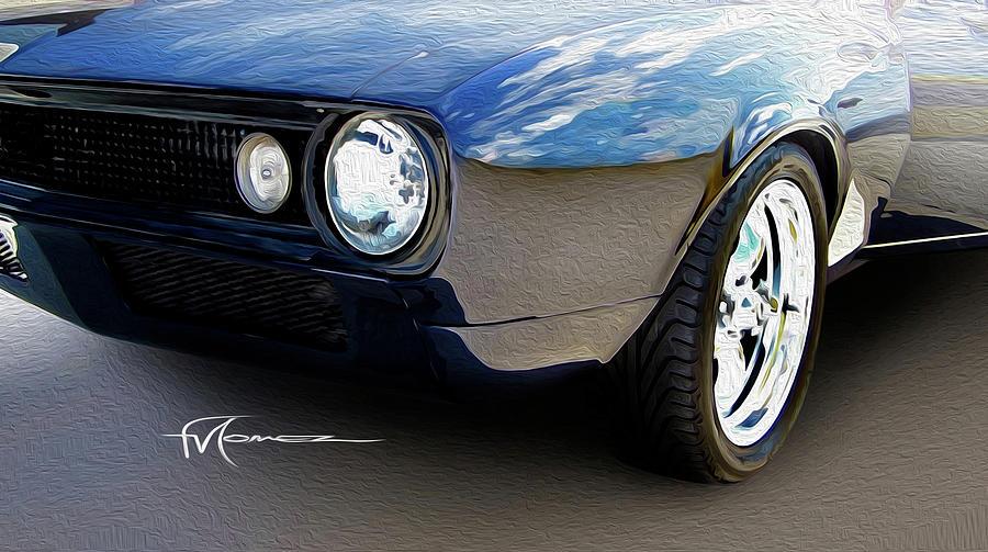 Camaro Photograph - Phantom Camaro by Felipe Gomez