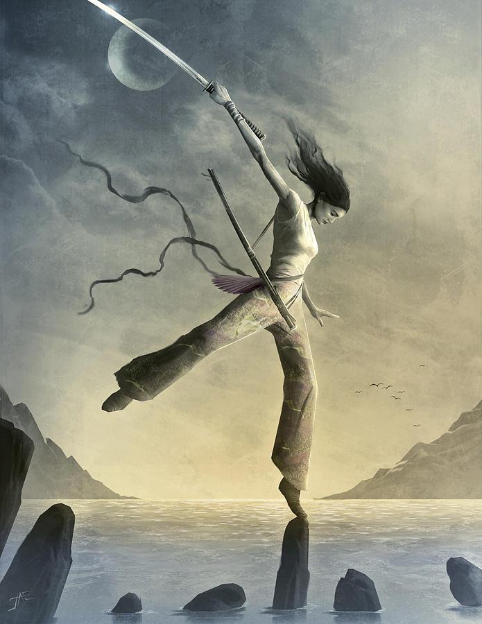 Zen Painting - Dreamfall by Jason Engle