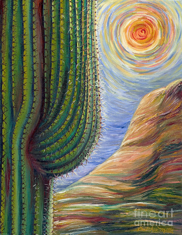 Landscape Painting - Dreaming in Color by Gretchen Matta