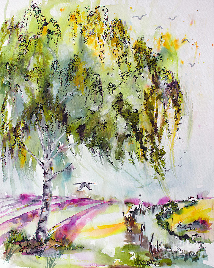 Dreaming Of Provence Painting by Ginette Callaway