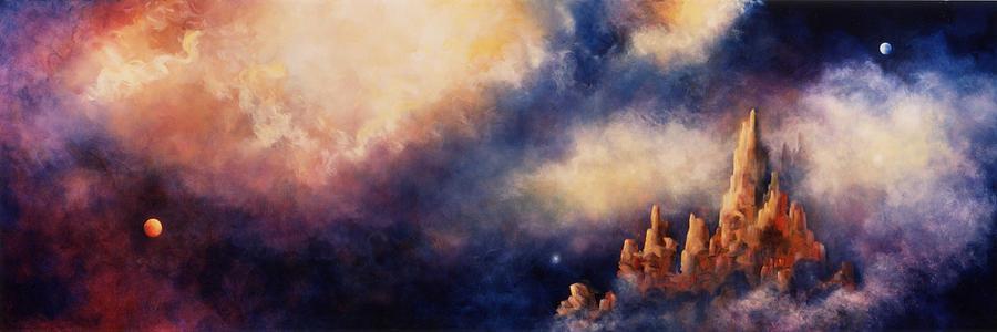 Landscape Painting - Dreaming Sedona by Marina Petro