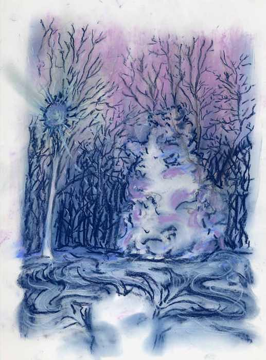Dreaming Tree Drawing by Patience Tumblesome