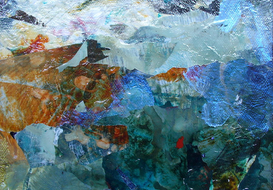 Contemporary Painting - Dreamland by Mary Sullivan