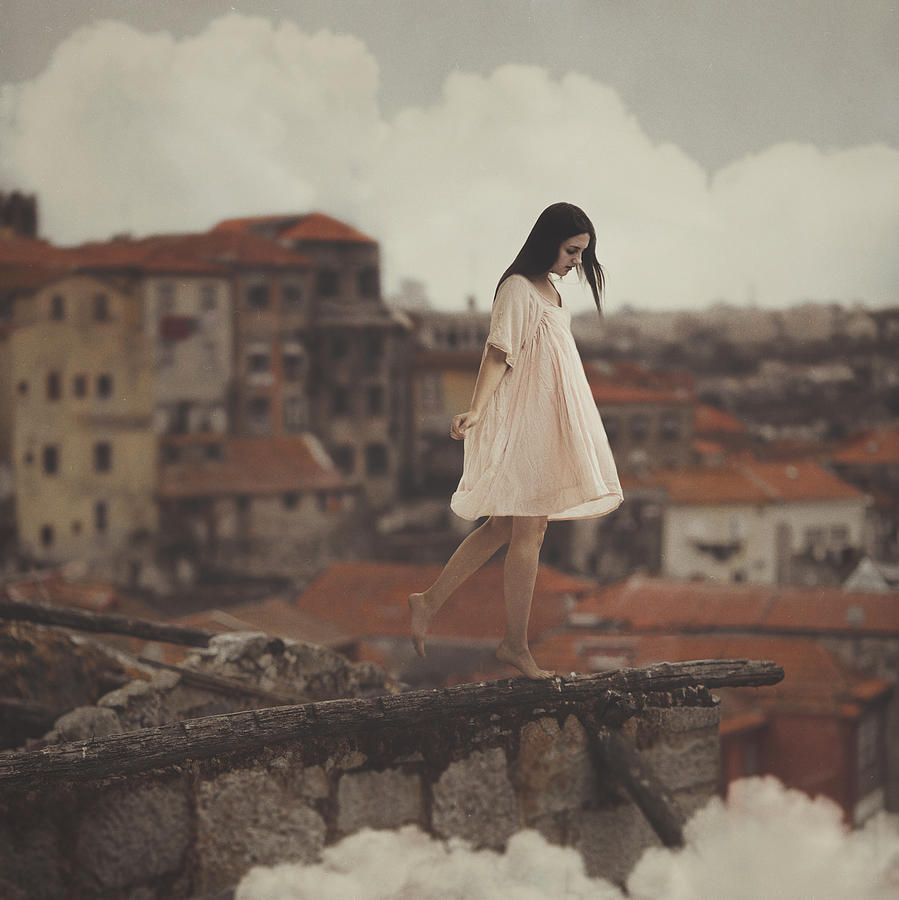 Dreams in old Porto Photograph by Anka Zhuravleva