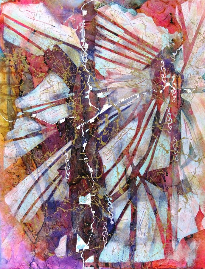 Abstract Painting - Dreams Journey by David Raderstorf