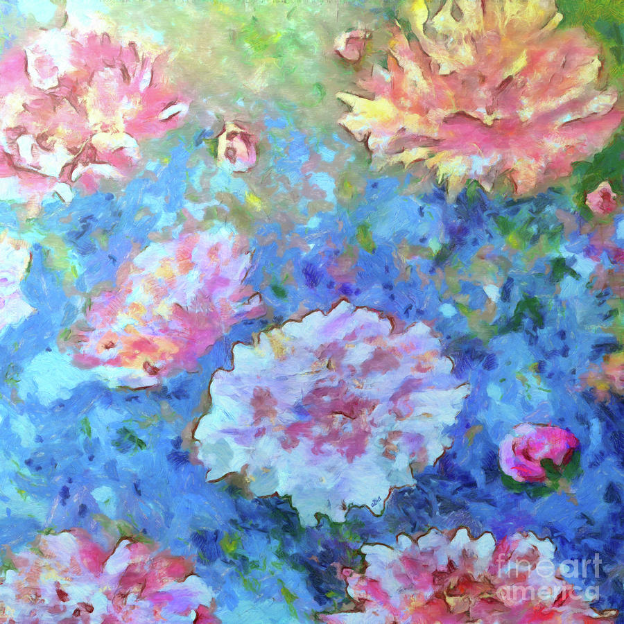 Peonies Painting - Dreams Of Love by Claire Bull