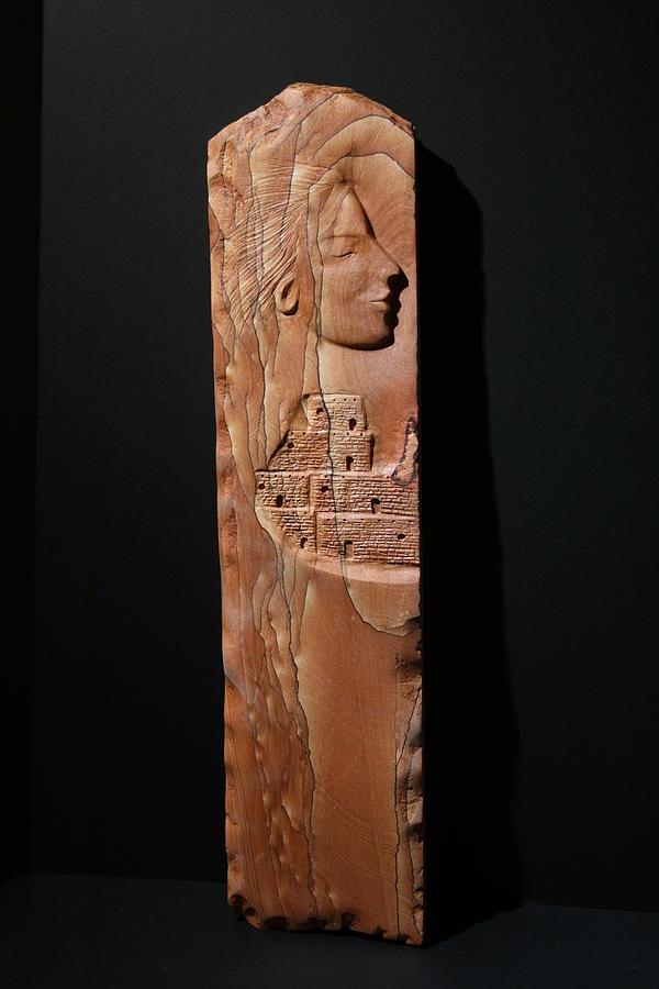 Woman Sculpture - Dreams Of My Past by Rudolf Cavalier