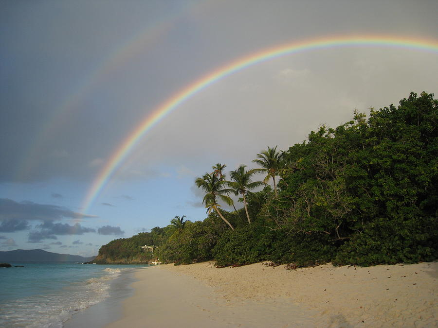 Rainbow Photograph - Dreams Really Do Come True by Ginger Howland