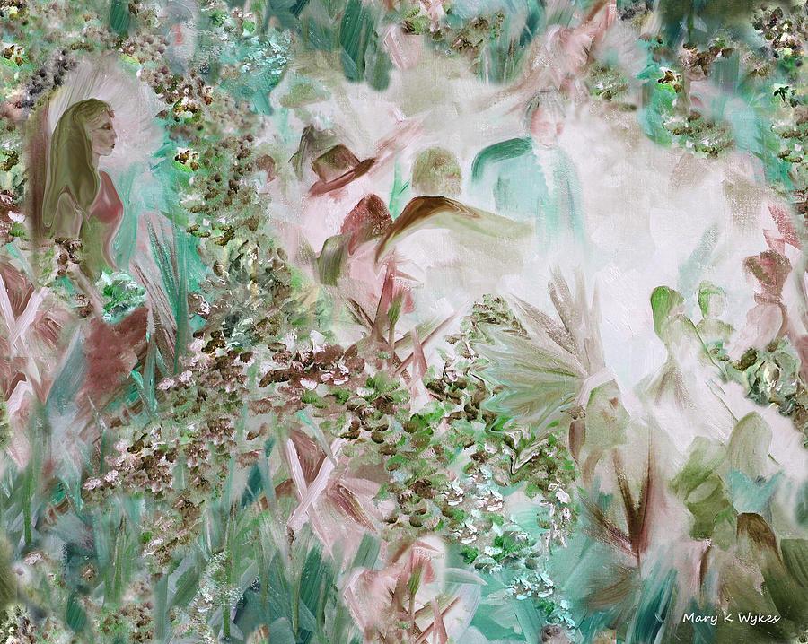 Impressionism Painting - Dreamscape 3 by Mary Beglau Wykes