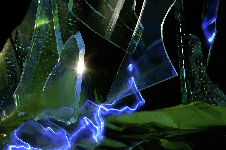Glass Photograph - Dreamscape by Barbara  White